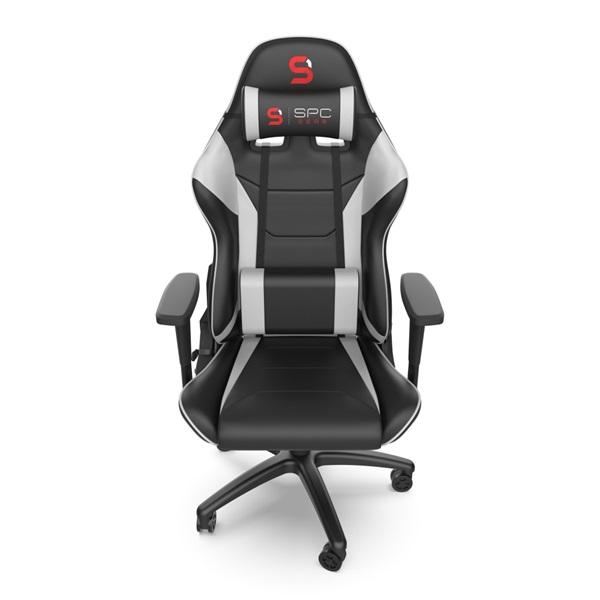 SPC Gear SR300 V2 fehér gamer szék - 8