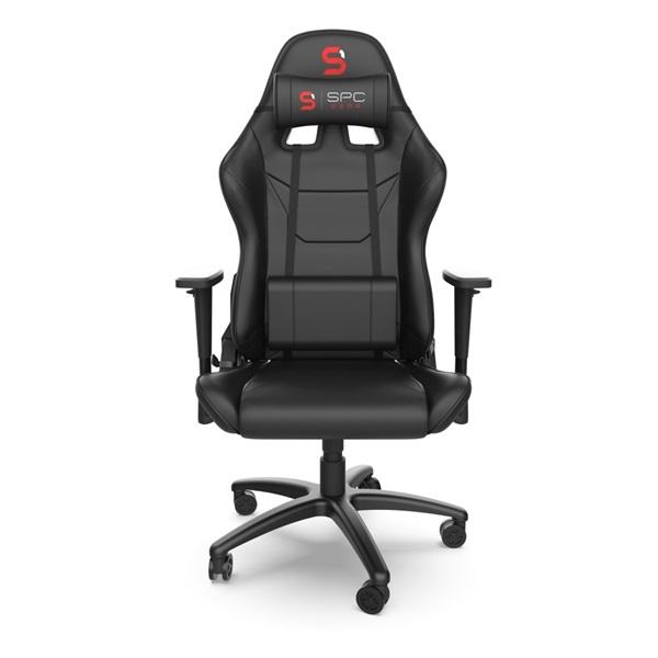 SPC Gear SR300 V2 fekete gamer szék - 1