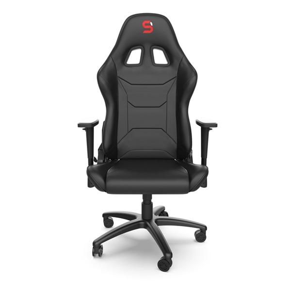SPC Gear SR300 V2 fekete gamer szék - 2