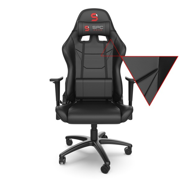 SPC Gear SR300 V2 fekete gamer szék - 3