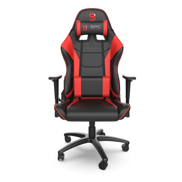SPC Gear SR300 V2 piros gamer szék - 1