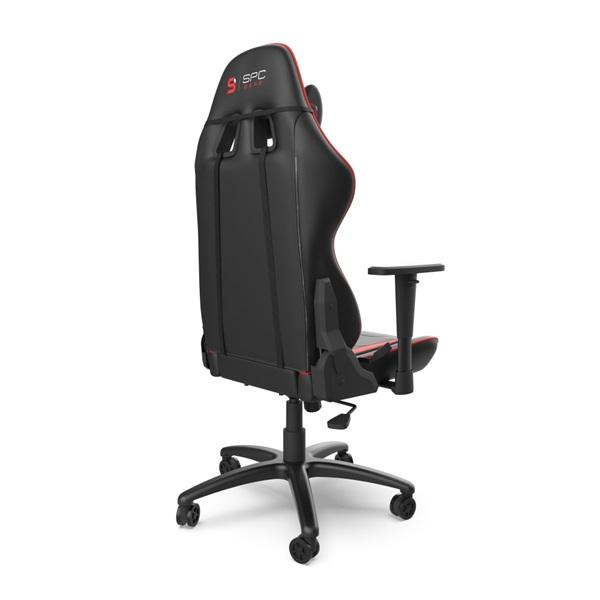 SPC Gear SR300 V2 piros gamer szék - 16