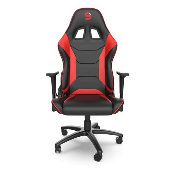 SPC Gear SR300 V2 piros gamer szék - 2