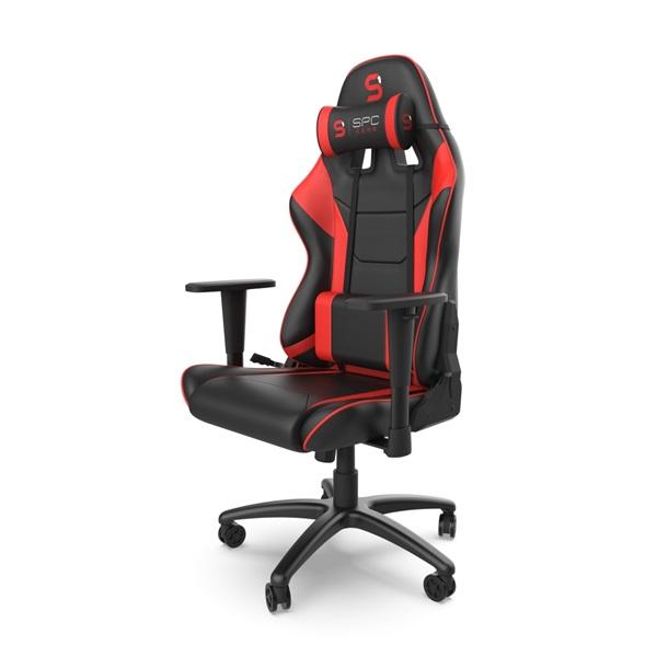 SPC Gear SR300 V2 piros gamer szék - 4