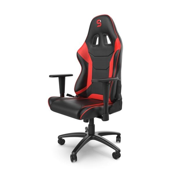 SPC Gear SR300 V2 piros gamer szék - 5