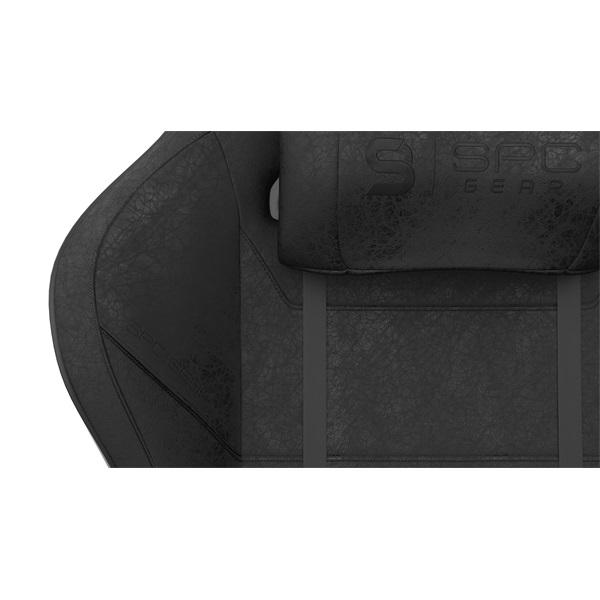 SPC Gear SR600 fekete gamer szék - 15