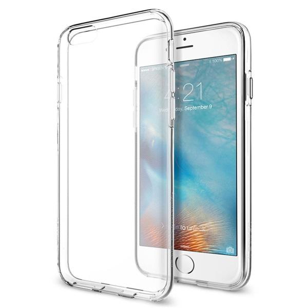 Spigen SGP Liquid Crystal Apple iPhone 6/6s hátlap tok - Átlátszó - 1