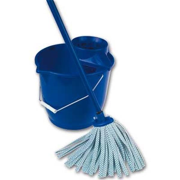 Spontex felmosó fém nyél, kék, 120cm - 1