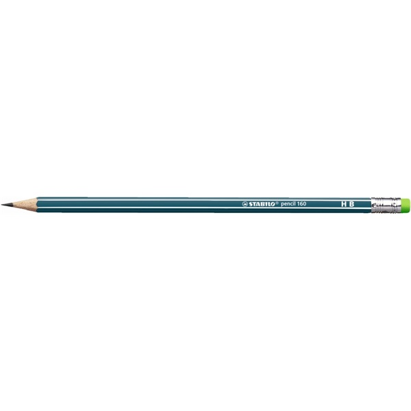 Stabilo 160 HB radíros olajzöld grafitceruza - 1