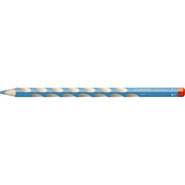 Stabilo Easy jobbkezes égkék színes ceruza - 1
