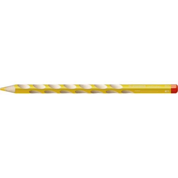 Stabilo Easy jobbkezes sárga színes ceruza - 1
