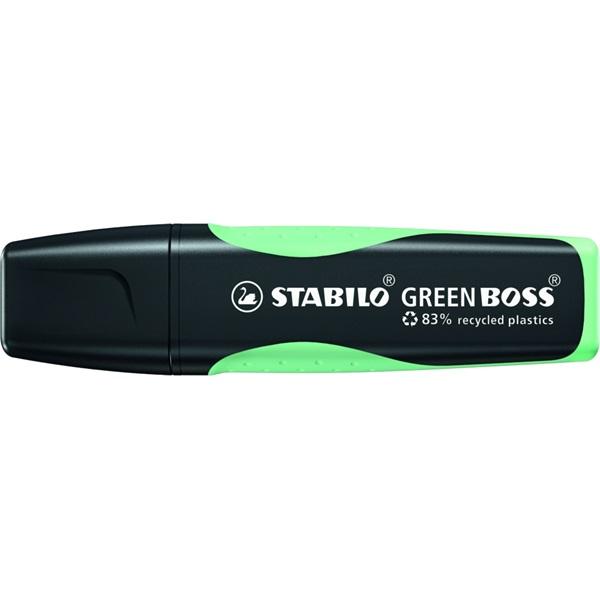 STABILO GREEN BOSS Pastel menta szövegkiemelő - 2
