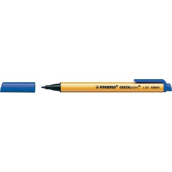 Stabilo Greenpoint kék filctoll - 1