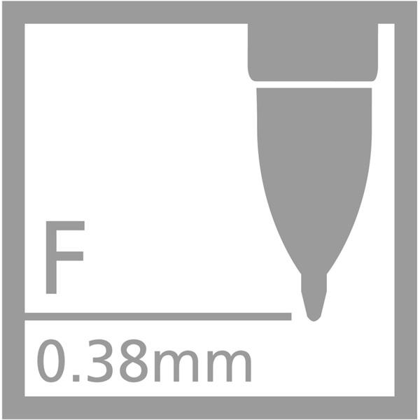 Stabilo Palette zseléstoll nyomógombos fekete zseléstoll - 1