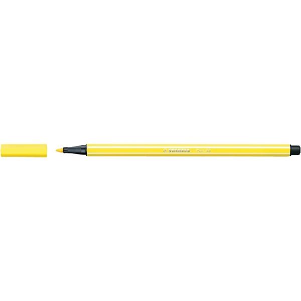 Stabilo Pen 68/24 citromsárga rostirón - 2