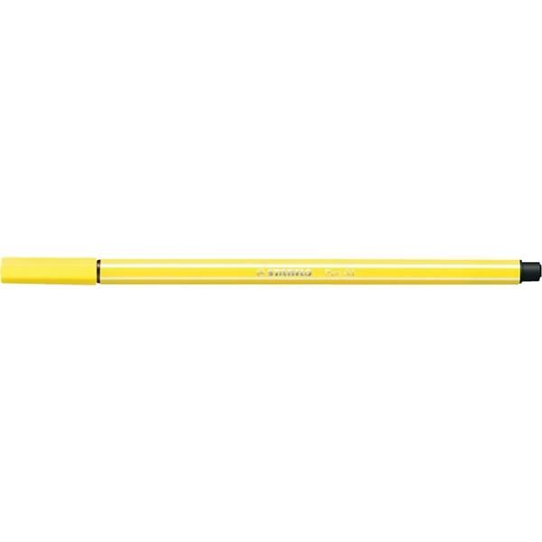Stabilo Pen 68/24 citromsárga rostirón - 1
