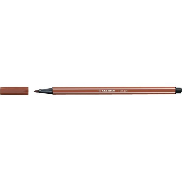 Stabilo Pen 68/38 rozsdavörös rostirón - 2