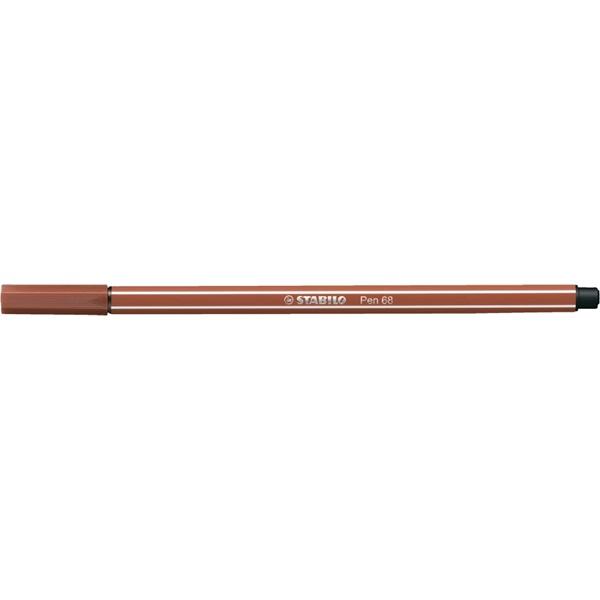 Stabilo Pen 68/38 rozsdavörös rostirón - 1