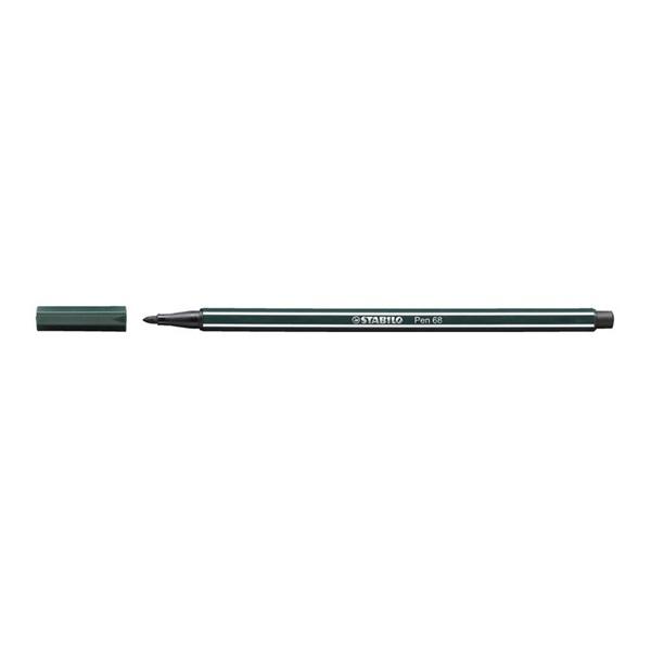 Stabilo Pen 68/63 sötétzöld rostirón - 1