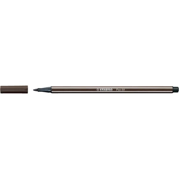 Stabilo Pen 68/65 sötétbarna rostirón - 2
