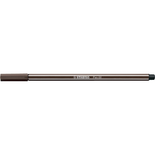 Stabilo Pen 68/65 sötétbarna rostirón - 1