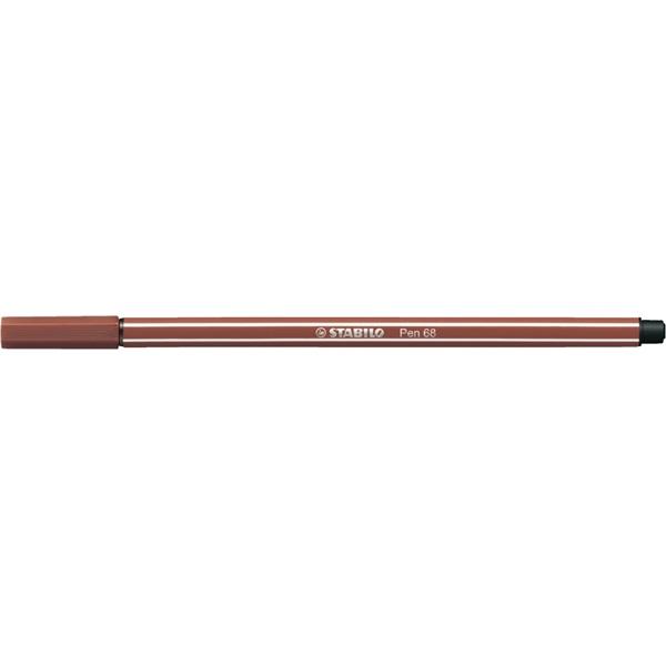 Stabilo Pen 68/75 vöröses barna rostirón - 1
