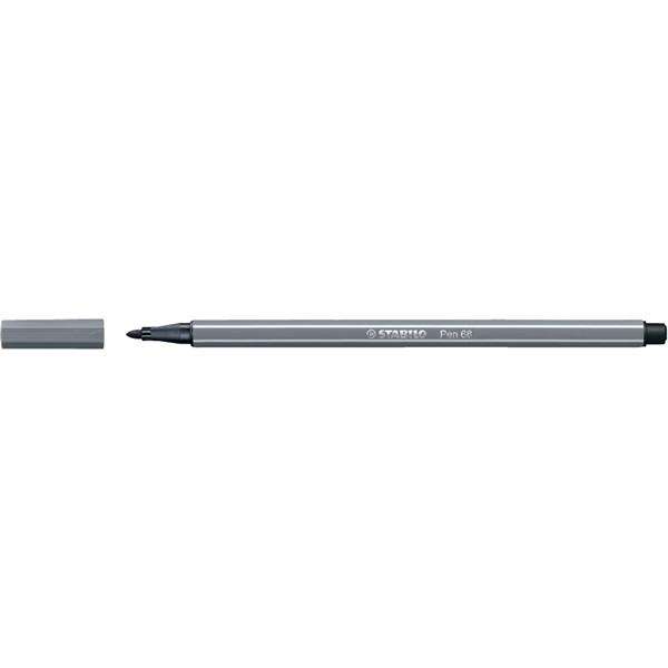 Stabilo Pen 68/97 mély szürke rostirón - 2