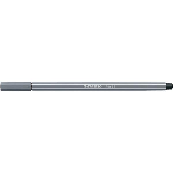 Stabilo Pen 68/97 mély szürke rostirón - 1