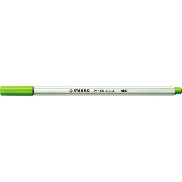 Stabilo Pen 68 brush fűzöld ecsetfilc - 1
