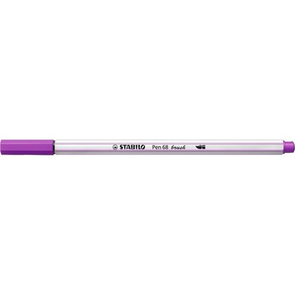 Stabilo Pen 68 brush lila ecsetfilc - 1