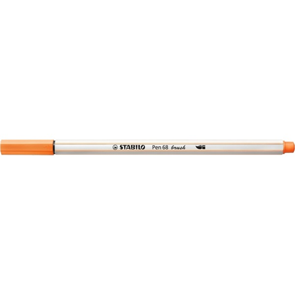 Stabilo Pen 68 brush neon narancssárga ecsetfilc - 1