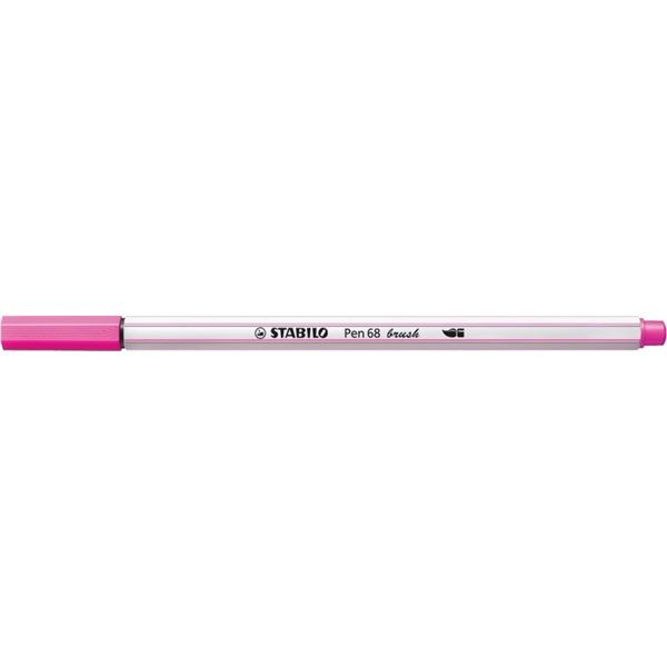 Stabilo Pen 68 brush neon pink ecsetfilc - 1