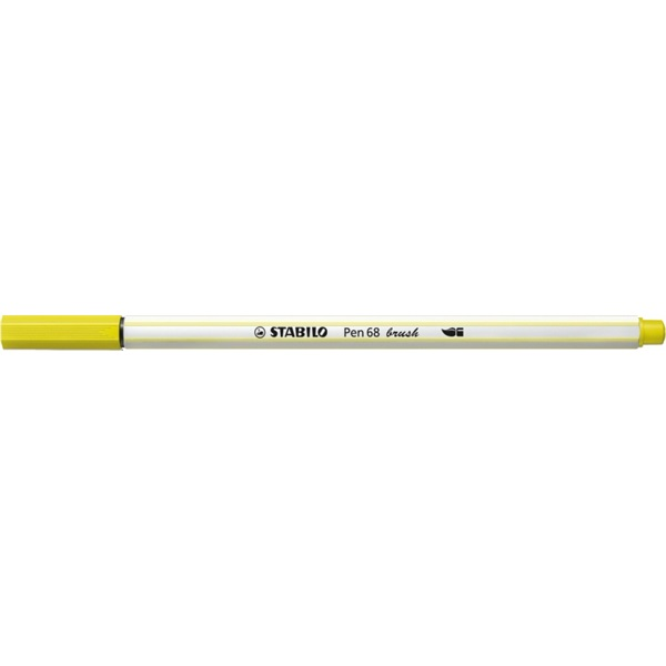 Stabilo Pen 68 brush neon sárga ecsetfilc - 1