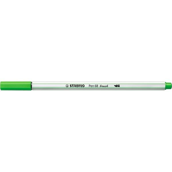 Stabilo Pen 68 brush világoszöld ecsetfilc - 1