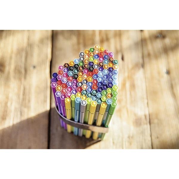 Stabilo Pen 68 Living Colors Avokádó 8db-os vegyes színű rostirón készlet - 3