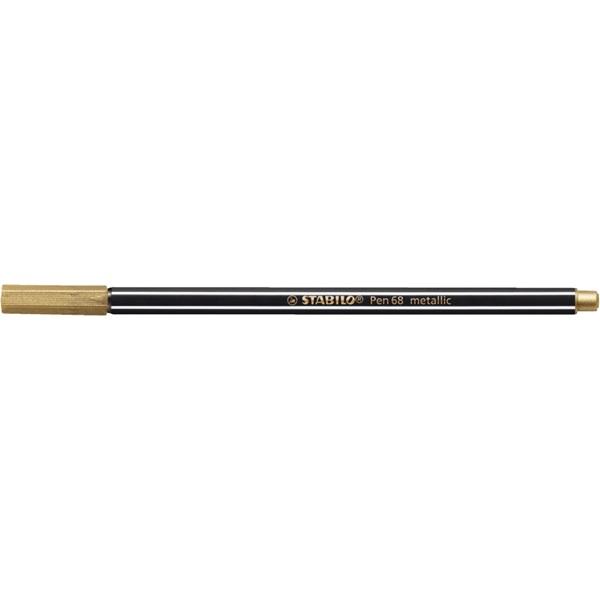 Stabilo Pen 68 metallic arany filctoll - 1