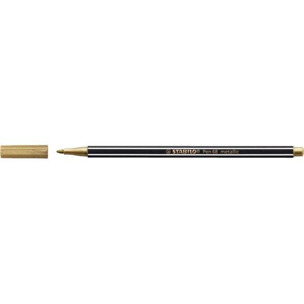 Stabilo Pen 68 metallic arany filctoll - 2