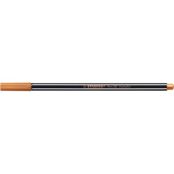 Stabilo Pen 68 metallic bronz filctoll - 1
