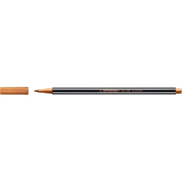 Stabilo Pen 68 metallic bronz filctoll - 2