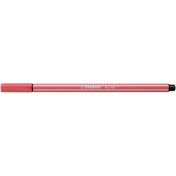STABILO Pen 68 rozsdavörös rostirón - 2