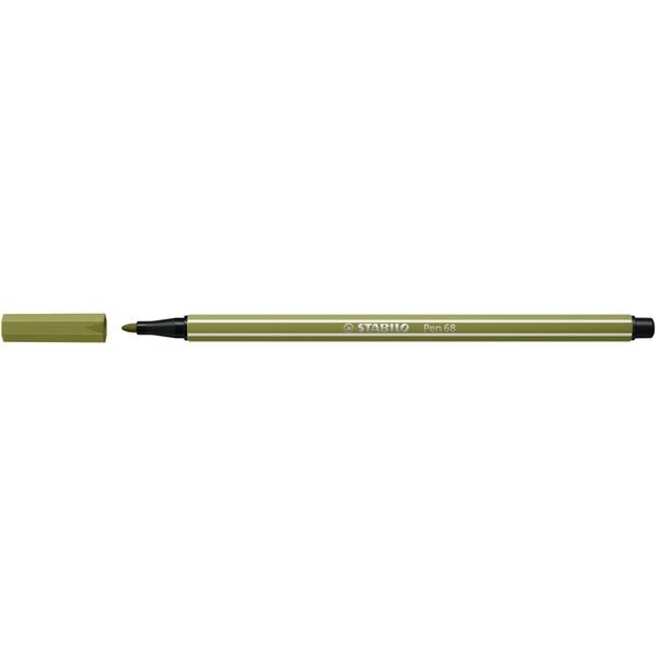 STABILO Pen 68 sárzöld rostirón - 1