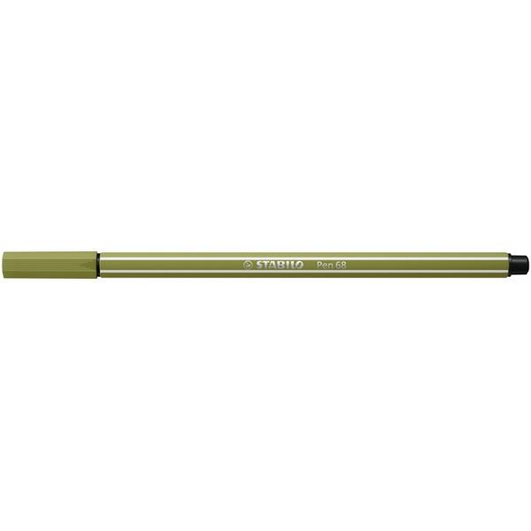 STABILO Pen 68 sárzöld rostirón - 2