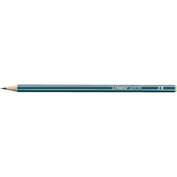 STABILO pencil 160 2B petrol grafitceruza - 1