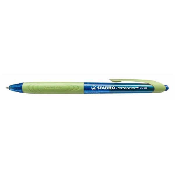 Stabilo Performer + 0,5mm XF kék-világoszöld golyóstoll - 1
