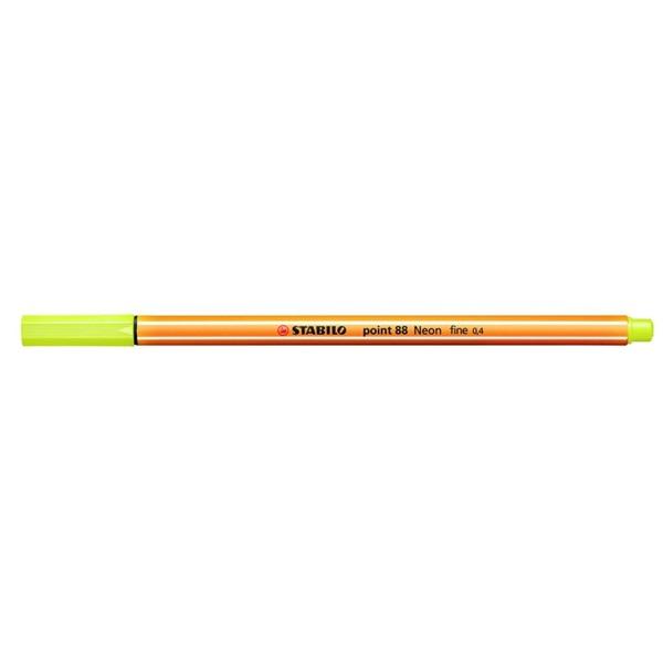 Stabilo Point 88/024 sárga tűfilc - 1