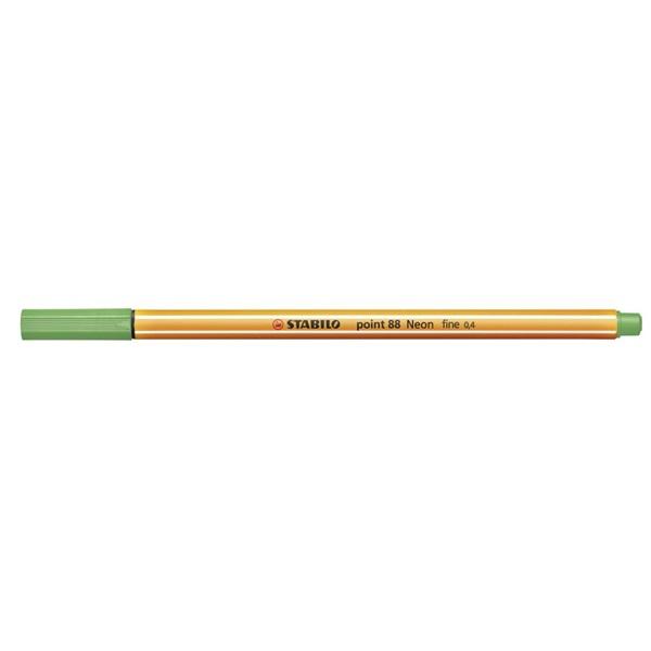 Stabilo Point 88/033 zöld tűfilc - 1