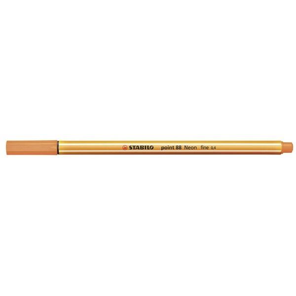 Stabilo Point 88/054 neon narancs tűfilc - 1