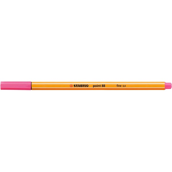 Stabilo Point 88/17 napraforgó rózsaszín tűfilc - 1