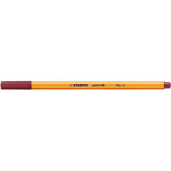 Stabilo Point 88/19 bíborvörös tűfilc - 1