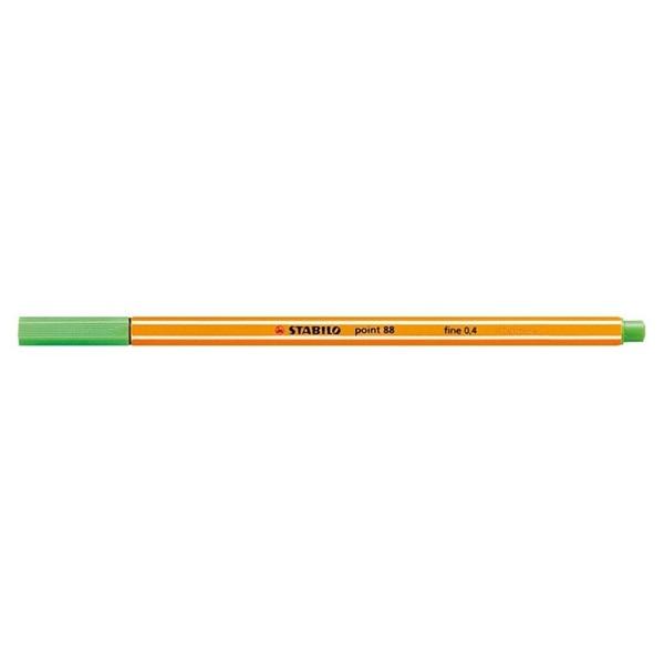 Stabilo Point 88/33 almazöld tűfilc - 1
